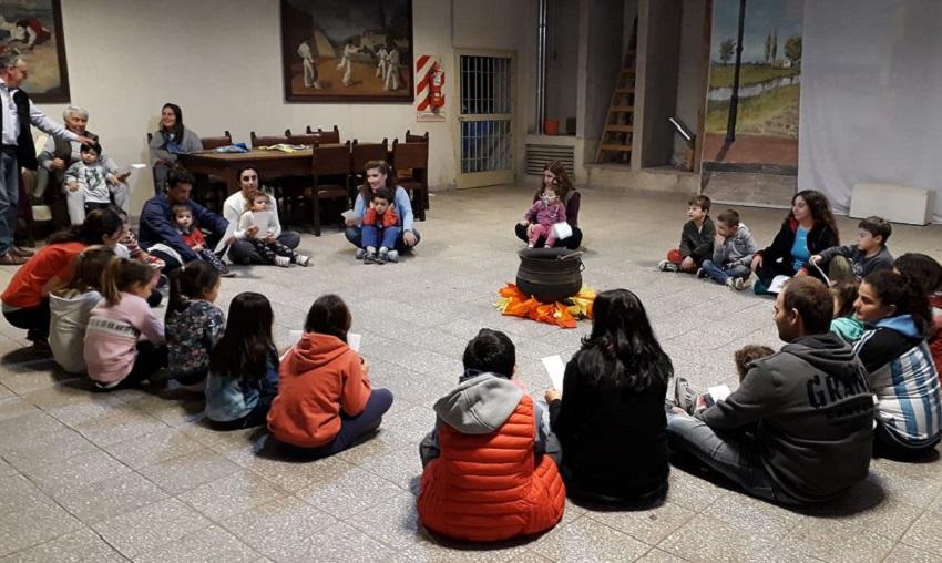 Pergaminoko Lagun Onak-en ere piztu zen magia