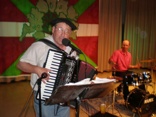 Jean Flesher, músico vasco de Utah