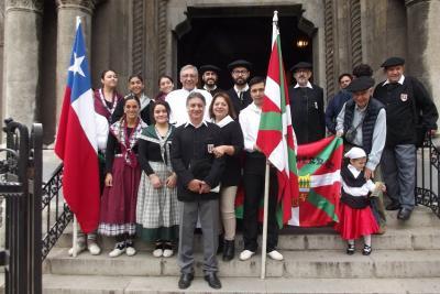 Celebración de San Miguel 2018 en el Euzko Etxea de Santiago