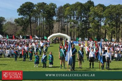 Euskal Jaia-Fiesta Vasca en Escuela Euskal Echea