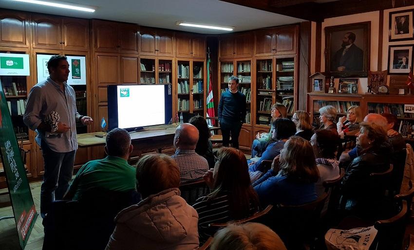 "Talk ""A Look at Euskadi"""
