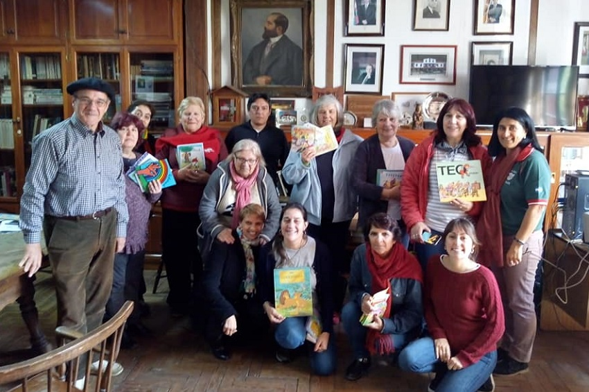 Basque library meeting