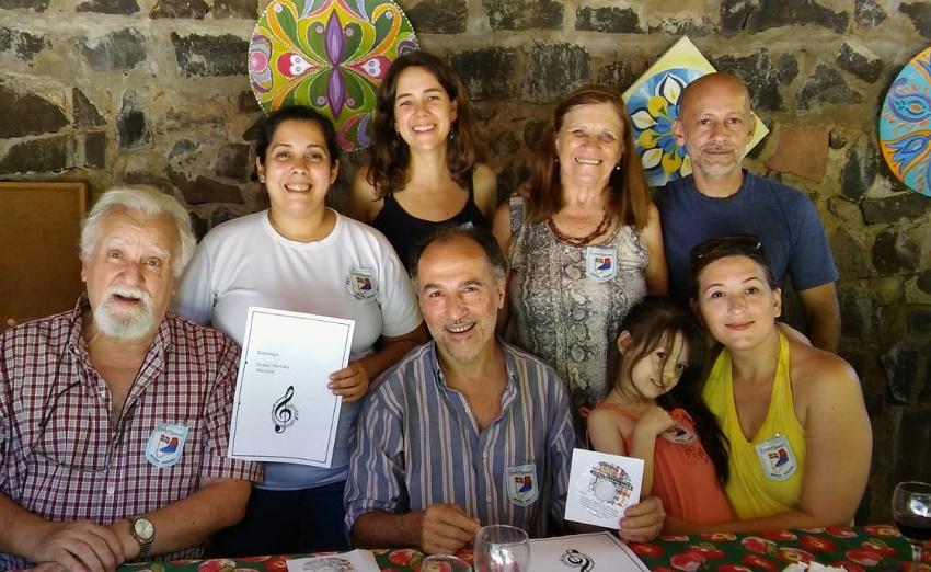 Alumnos de euskera en Posadas