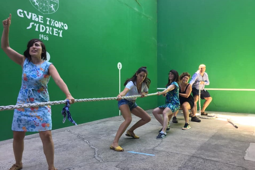 Euskararen Nazioarte Eguna (ENE) last weekend at the Gure Txoko Basque Club in Sydney