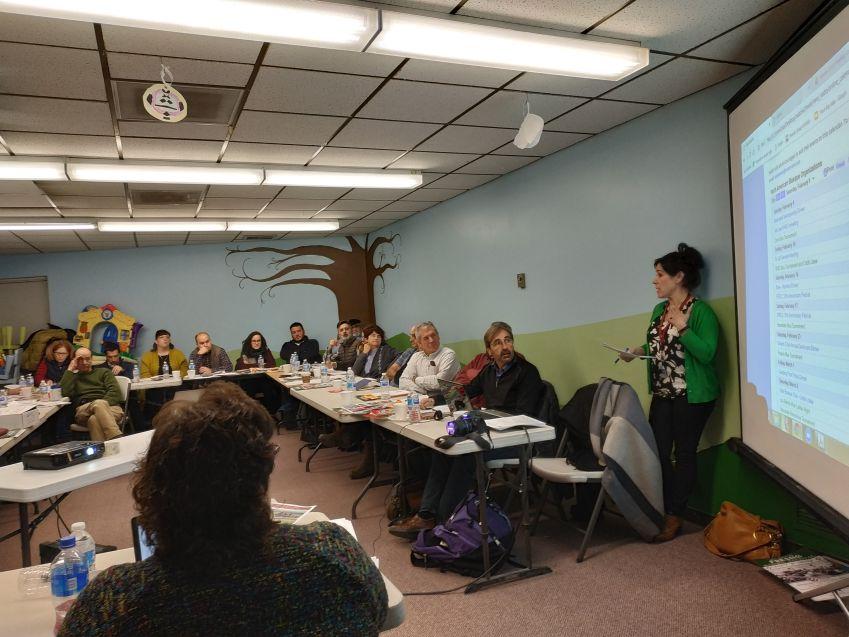 NABO Meeting last February in Salt Lake City (photo EuskalKultura.com)