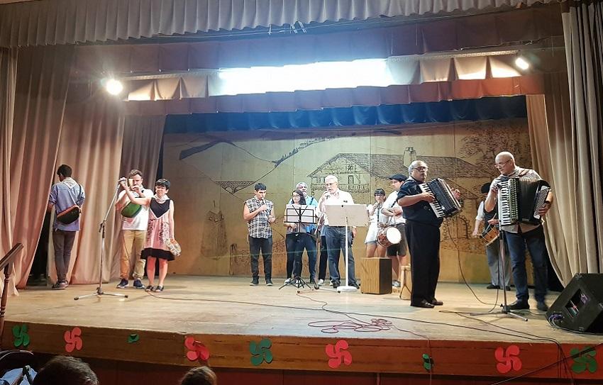 Encuentro de Músicos en activo organizado por FEVA