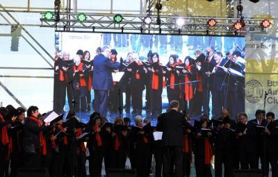El Lagun Onak en el 'Buenos Aires Celebra'