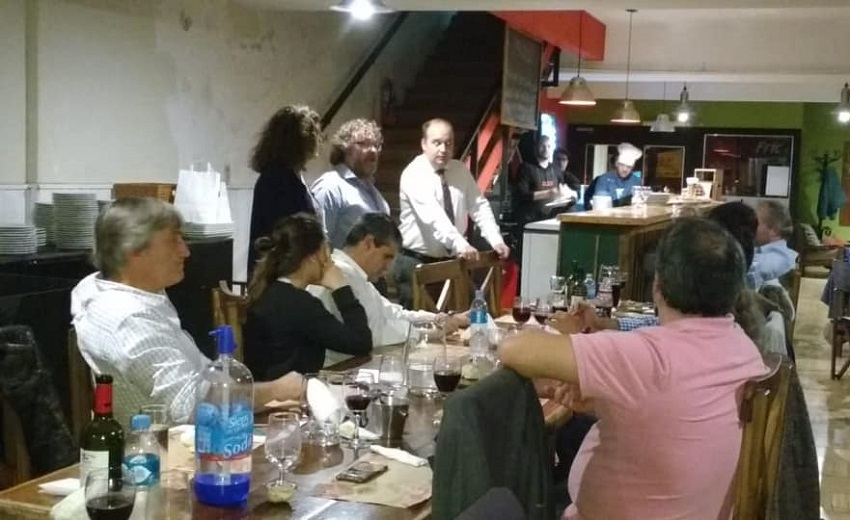 Basque club visits by Gorka Alvarez and Sara Pagola