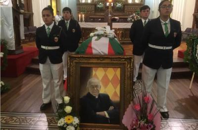Ceremonia de despedida al Padre Kepa Bilbao