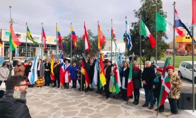2019ko Immigrantearen Eguna Puerto Madryn-en