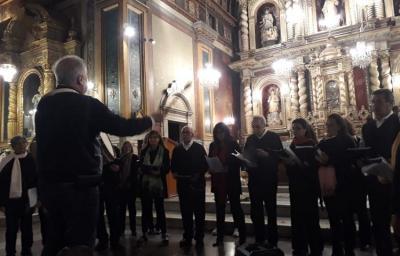 'Cordoba Loiolari kantari' errezitalaren 29. edizioa irailaren 19an egin da San Ignazioren gorazarre Cordobako Jesusen Lagundiaren elizan