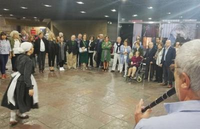 The inauguration of the Amale Artetxe Basque Chair on October 31st at the Cultural Center in Gral. San Martin in Buenos Aires