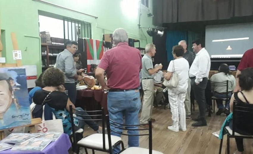 End of year activities at the Basque club in Venado Tuerto