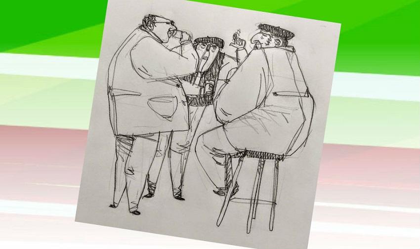 """Tres vascos hablando de política"""