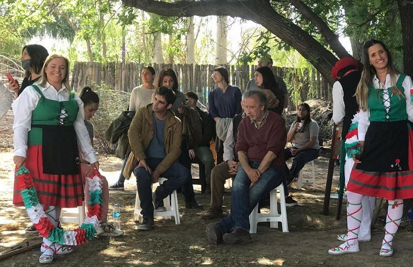 'El vasco' filma Mendozan (III)