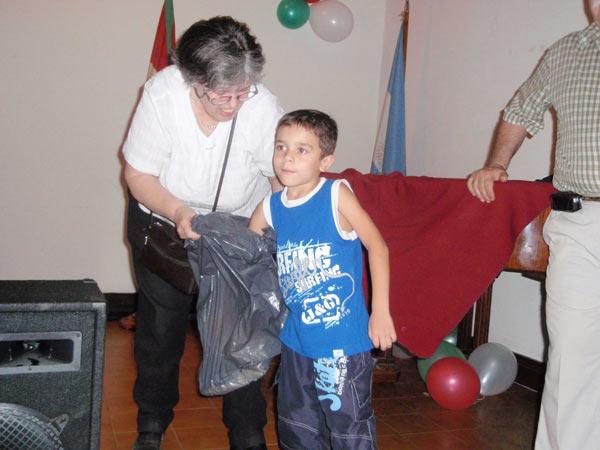 2008 urte amaiera festa Eusketxen - Bidaiaren zozketa