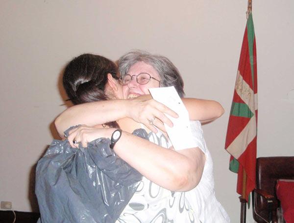 2008 Urte Amaiera Festa - Irabazlea pozik
