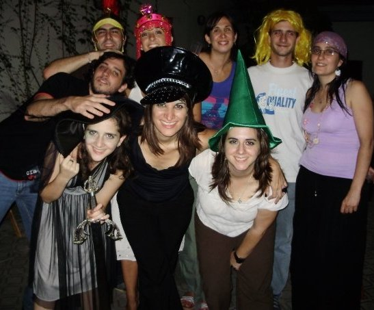 Costume Party 2009 at Mexico 1880