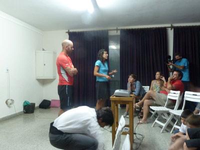 Pakea Bizkaia at Bahia Blanca 2012 - Talk
