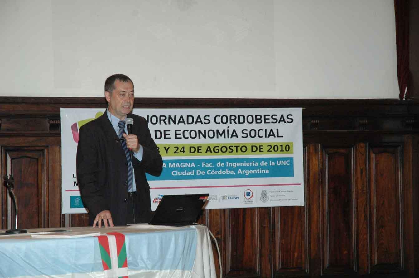 Gure Txokoa Jornadas sobre Economía 'Experiencia Mondragón' 1