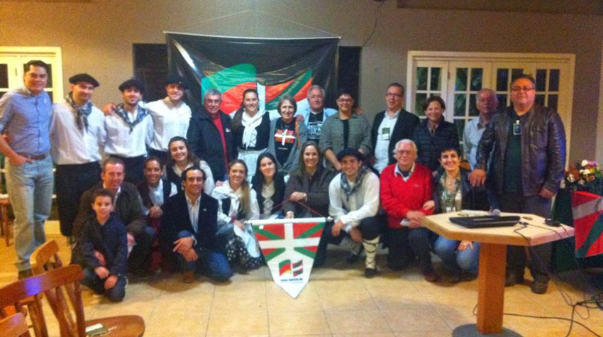 Basque Cultural Meeting in Uruguayana in 2014 organized by the RGS Basque Club
