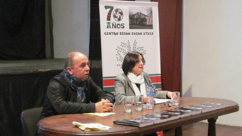 Presentation of a book on Basque nationalism in Argentina