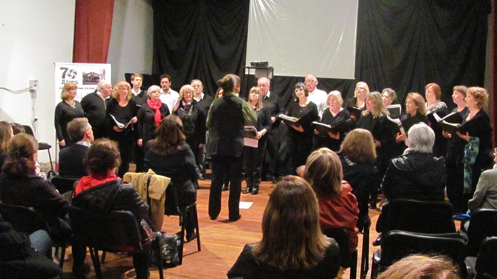 People interested in choral music also had their room in La Plata