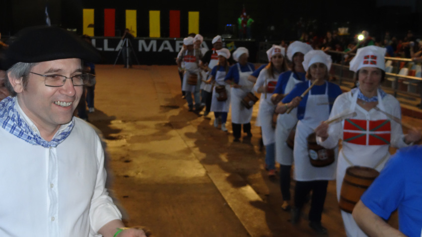 Basque Argentinian Week 2013 - Danborrada