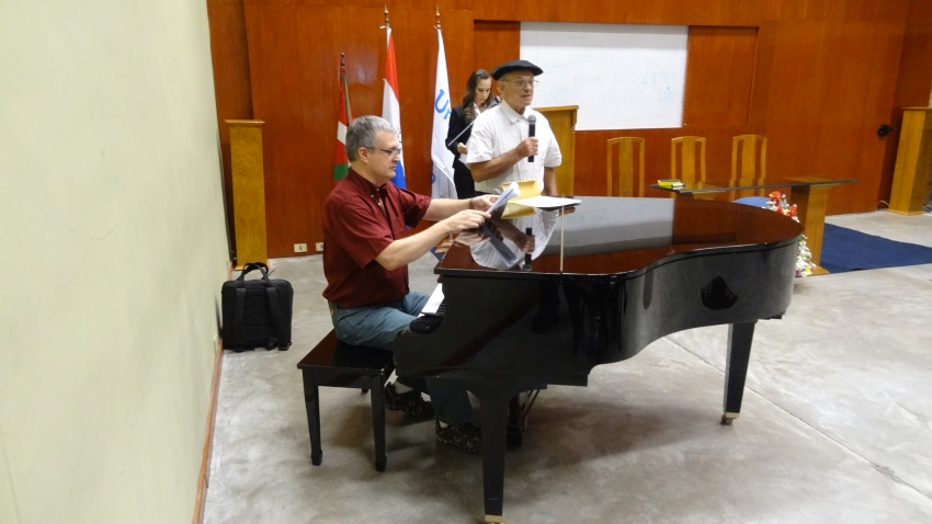 Basque songs accompanied on piano, and Gernikako Arbola