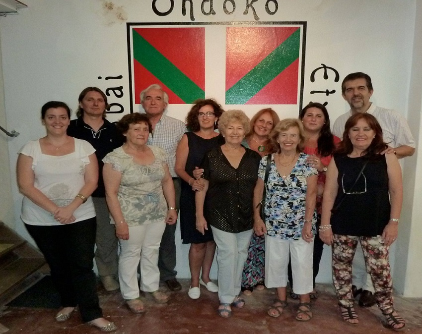Carmeloko Ibai Ondoko Euskal Etxean