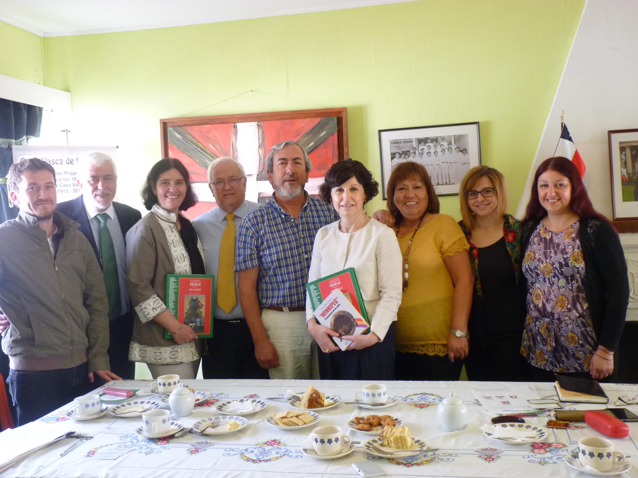 Marian Elorza Valparaísoko Eusko Etxean