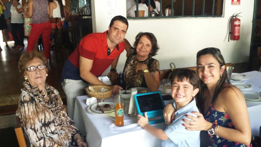 Mariangeles Gorostiaga, Eatik Venezuelara