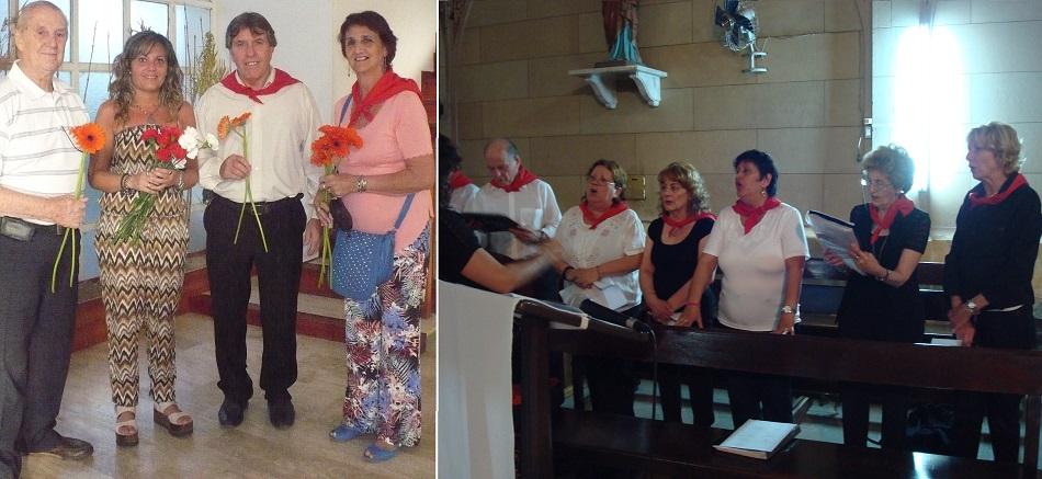 Ofrenda floral y Misa de Acción de Gracias
