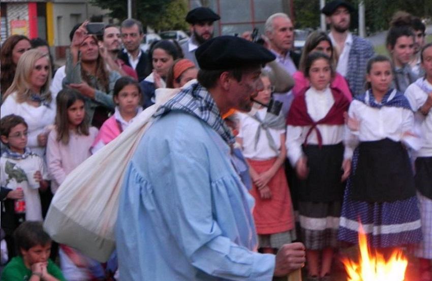 El Olentzero se adelantó uno días y llegó para Santo Tomás