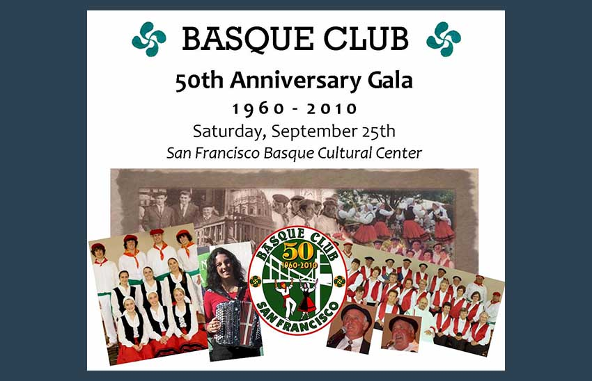 SFO Basque Club-en 50. urteurrena