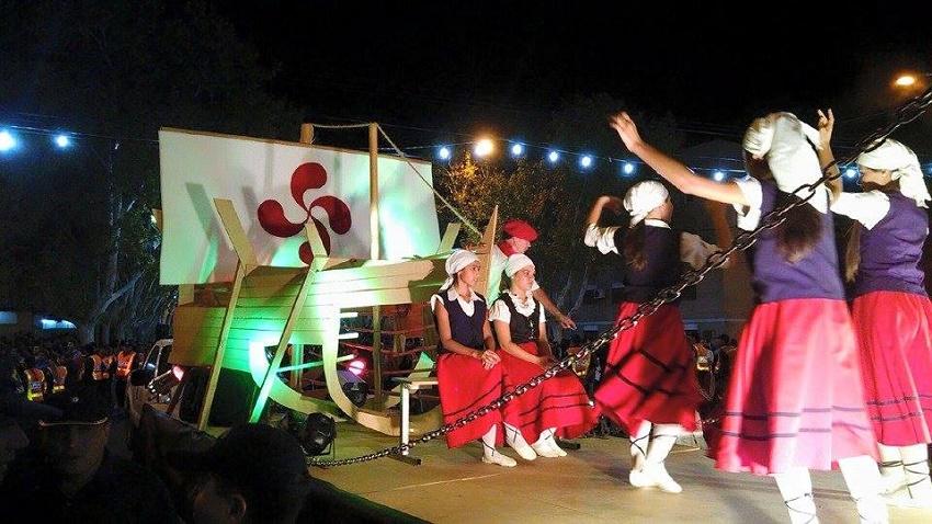 Euskal dantzak ere badira 'Pasio argentinarra'