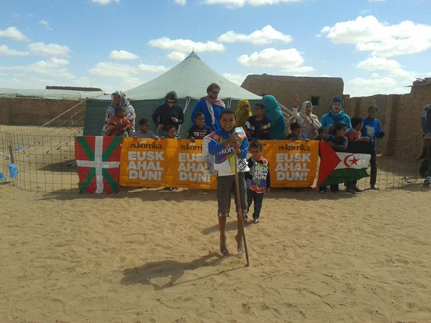 Korrika in the Sahara too!
