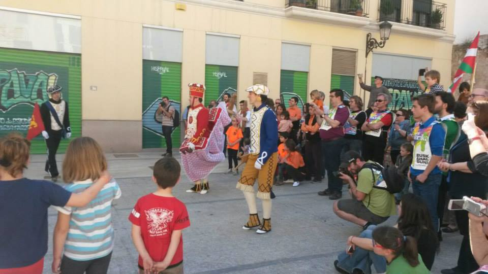 In Valencia, Korrika with dances and concerts