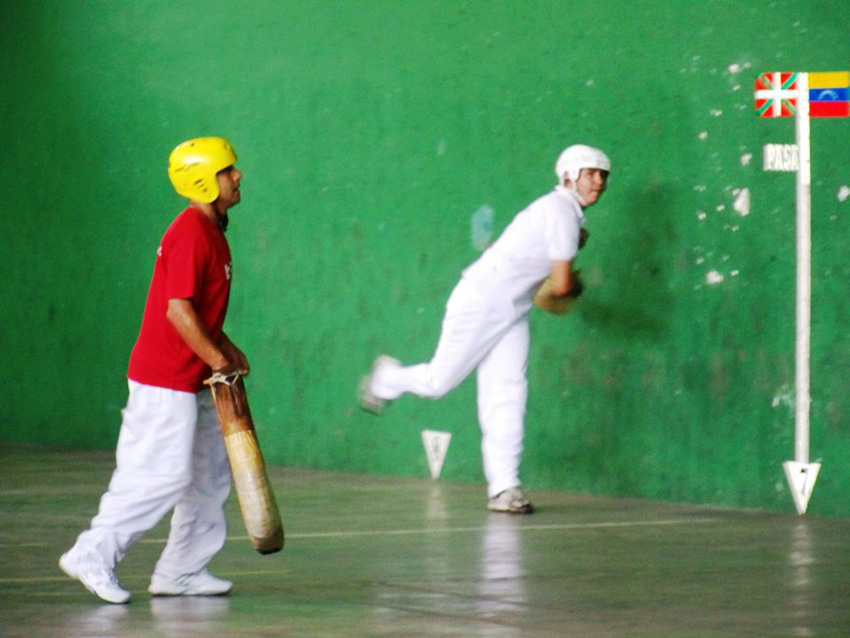 Pelota matches at the club's fronton