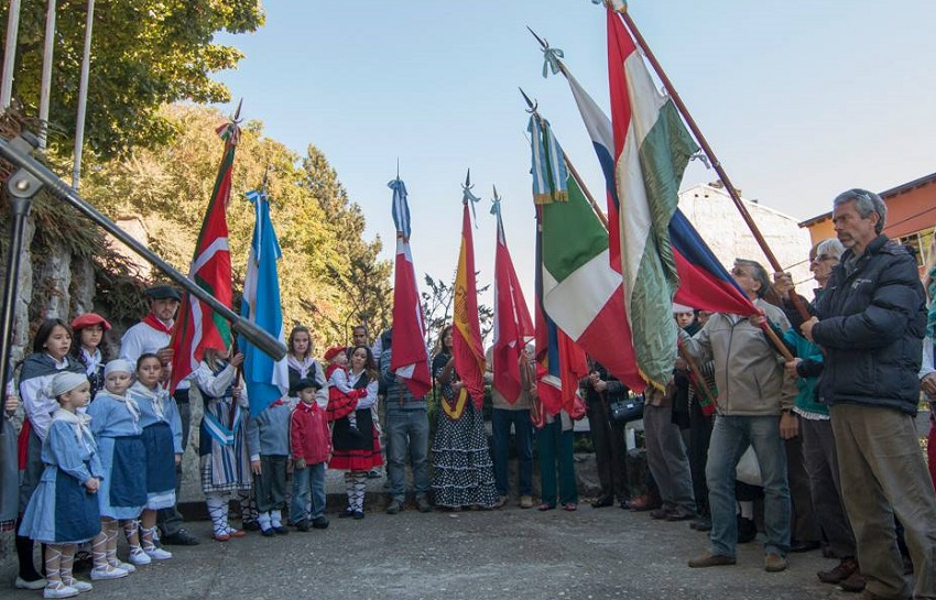 "In Bariloche, at the ""Walk of Communities"""
