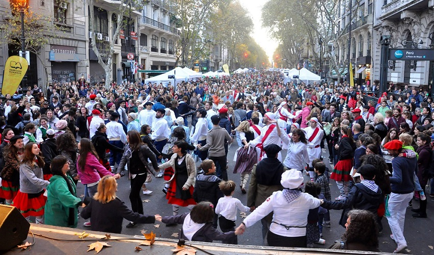Shot from last year's Buenos Aires Celebrates the Basque Country