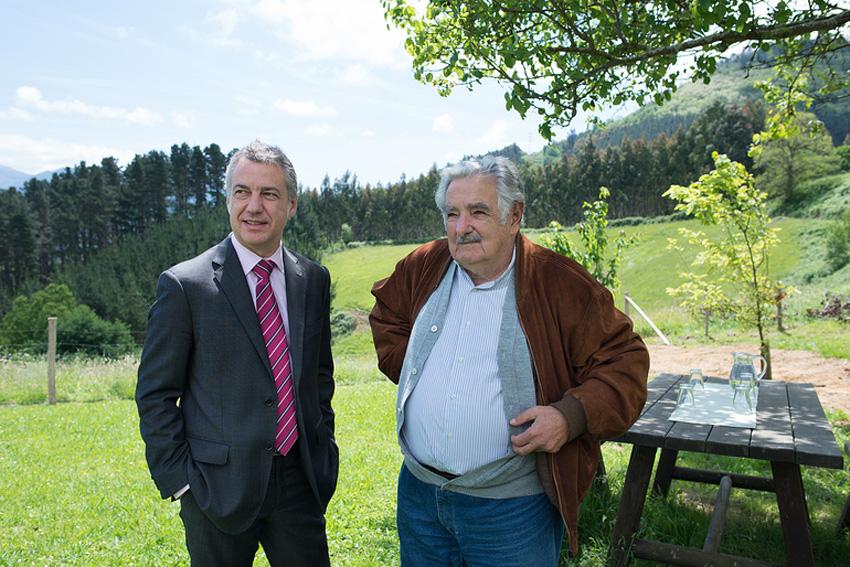 El Lehendakari y Jose Mugica