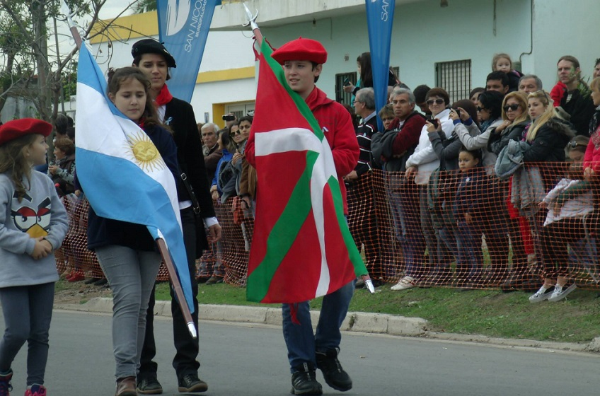The two flags from San Nicolas