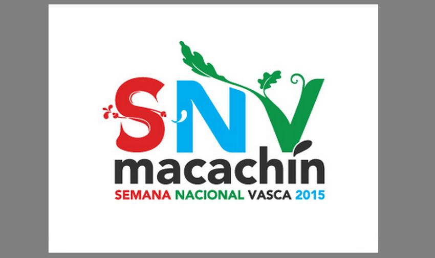 Logo de la Semana Nacional Vasca Macachín 2015