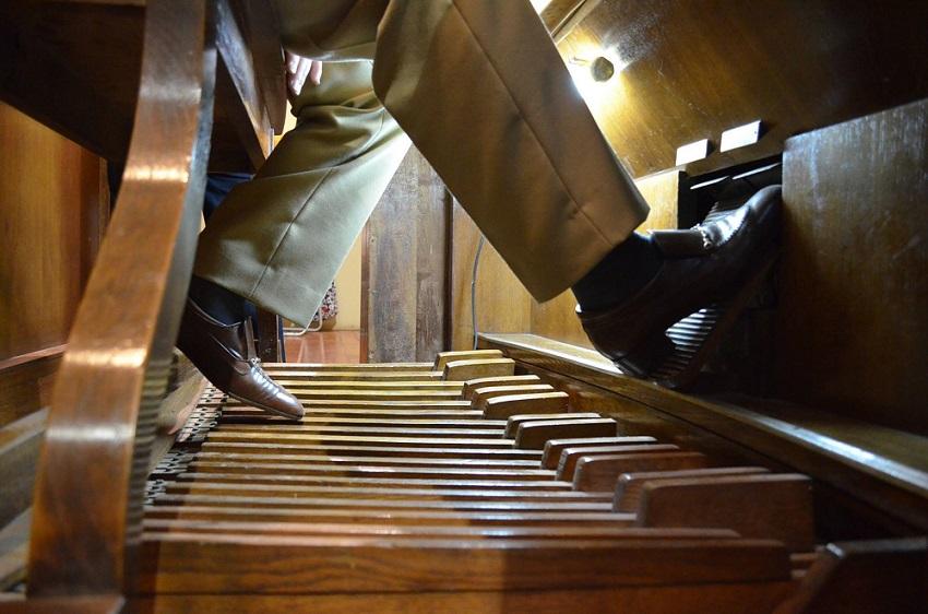 Otra vista del órgano
