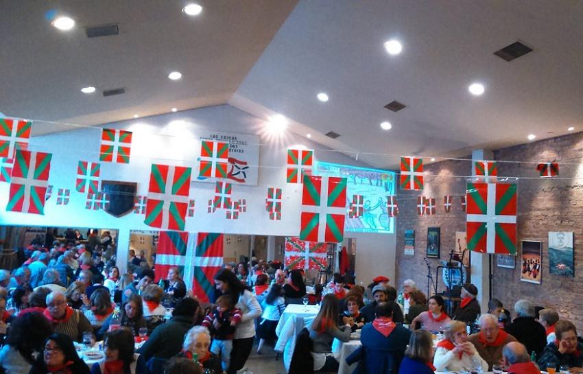 En Mendoza, un almuerzo para 150 personas