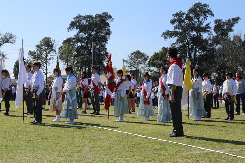 Banderas de ceremonia