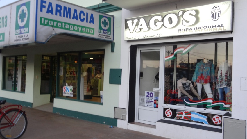Basque pharmacy in town