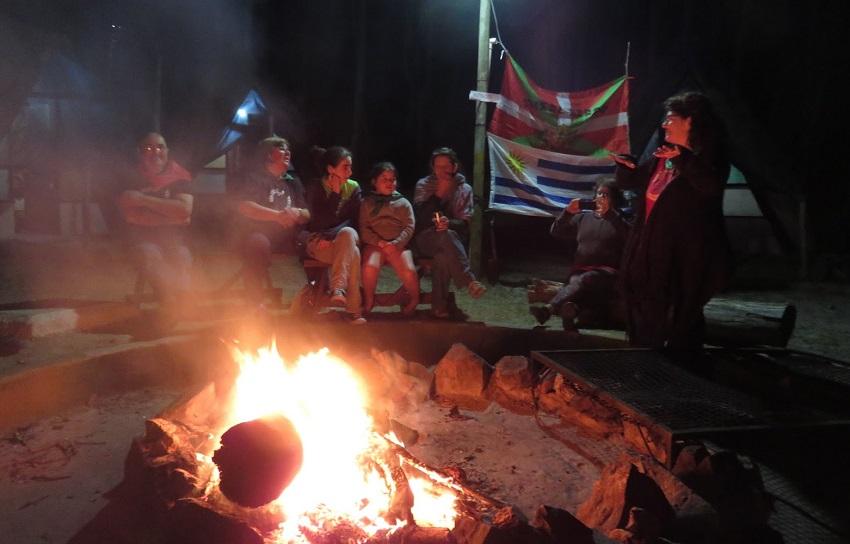 Basque fire