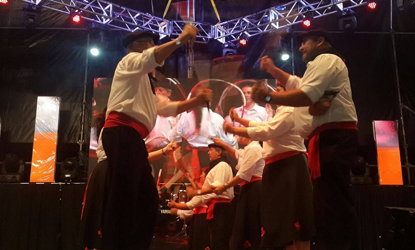 Euskal dantzarien txanda